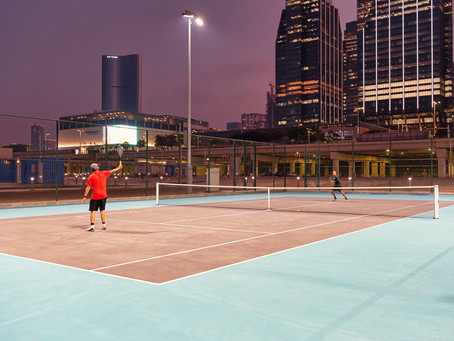 Sports and fitness activites are now available on Al Maryah Island, Abu Dhabi