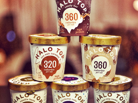 Halo Top - The Low Calorie ice cream, you can't live without