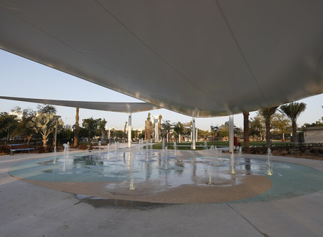Water splash and train activities return to Umm Al Emarat Park