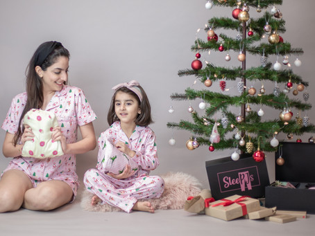 Matching Festive Pyjamas delivered to your door