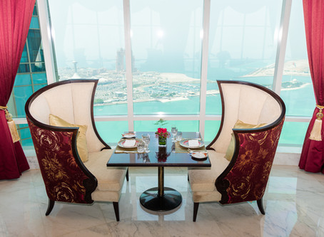 Brunch in the clouds is back at St. Regis Abu Dhabi