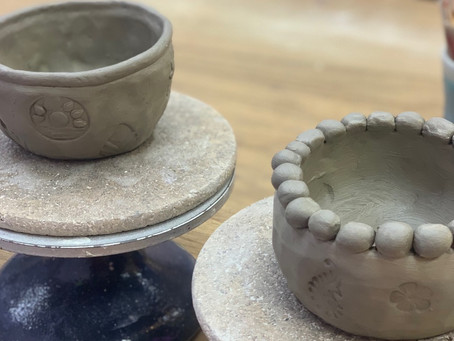 Get creative at this cute pottery making studio