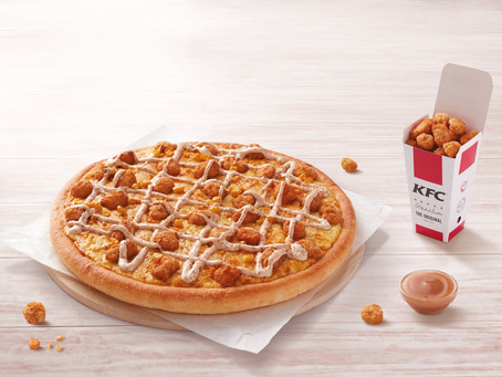 KFC and Pizza Hut join forces to bring a new pizza to the UAE