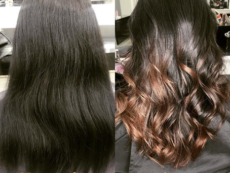 sort your hair out at glamour salon in al zeina