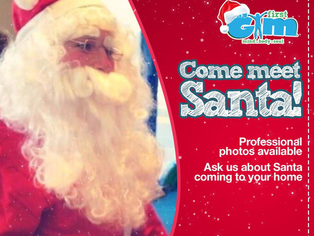 GIVEAWAY: Meet Santa Claus at My First Gym!
