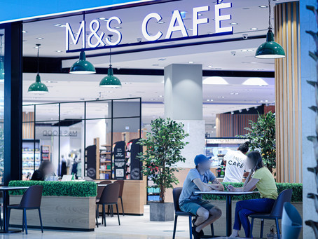 A quick look at the new M&S Food Hall and Cafe.