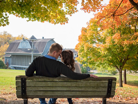 Beth + David | Engagement Photography | St. Patricks Park | South Bend, Indiana