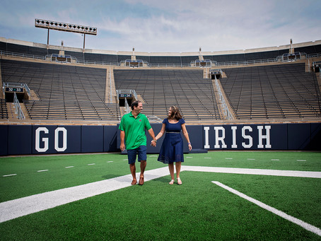 Rohr | Couples Session at Notre Dame