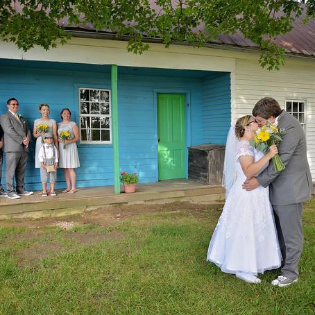 Morgan + Blake | Amish Acres Wedding