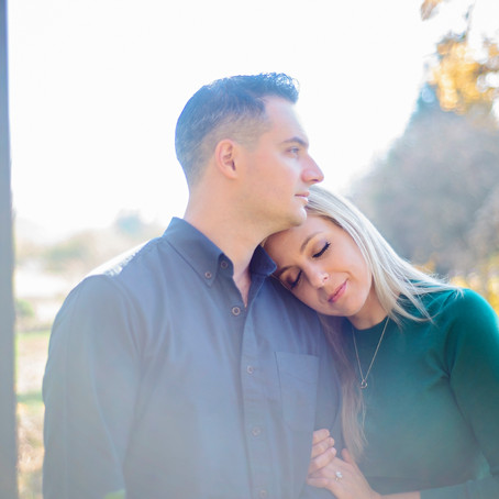 Michelle + Marty | Engagement Photography | Country Strong | Goshen, Indiana