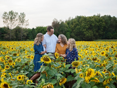 VanderReyden | Sunflower Field Photography | Thistleberry Farms, South Bend, Indiana