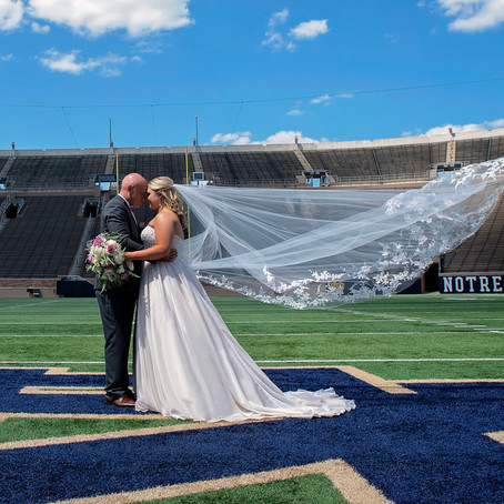 Kristin + Aaron   Wedding Photography   Notre Dame, South Bend, Indiana