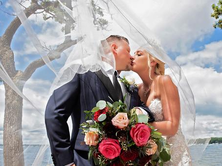 Krystle + Mike | Destination Wedding Photography | Arnolds Park | Lake Okoboji, Iowa