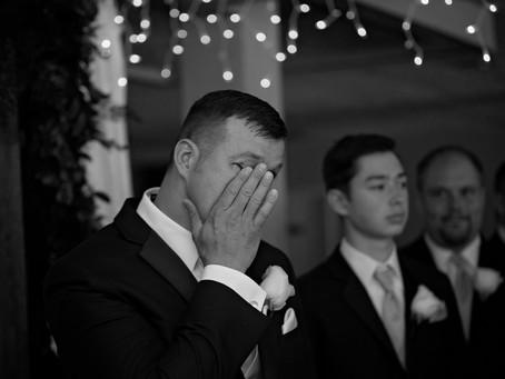 His Face | Wedding Photography