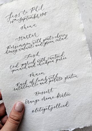 modern-calligraphy-khadi-handmade-paper-wedding-menu