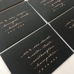 Stretch-Calligraphy-on-Black-Envelope