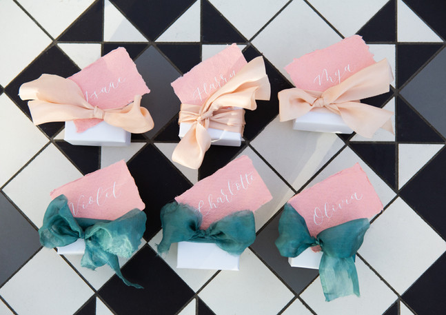 wedding-favour-gift-tags-khadi-pink-paper-calligraphy