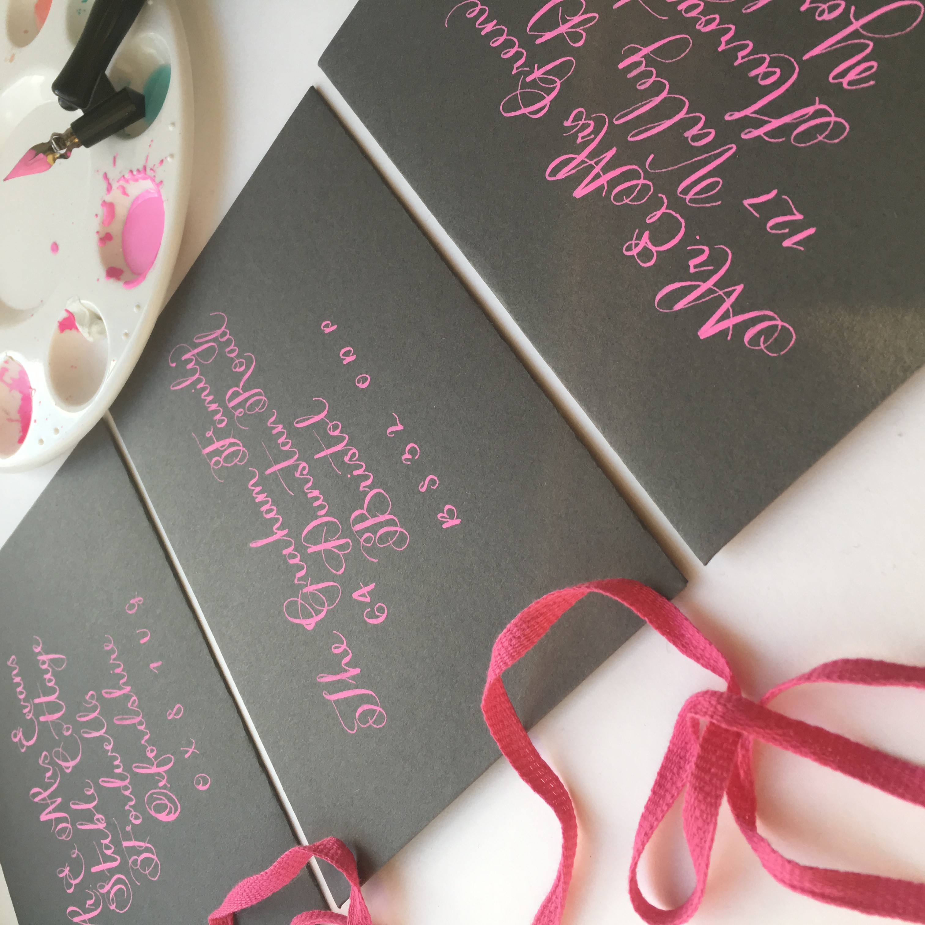 formal-calligraphy-envelope-bright-pink