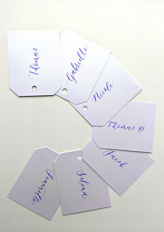 wedding-favour-tags-purple-calligraphy