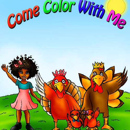 Come Color With Me
