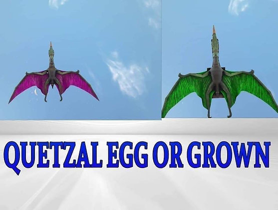 MUTATED QUETZAL WITH SADDLE PVP PS4 OFFICIAL