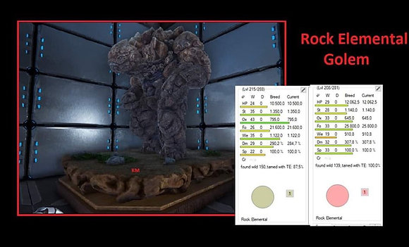 Rock golem ( offcial xbox smalltribes )
