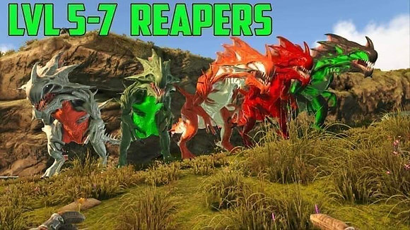 Level 5-7 Event Reapers ( Official PS4 PvP )