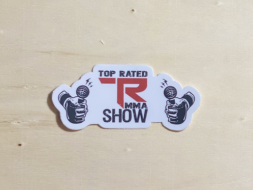 Top Rated MMA Show Sticker