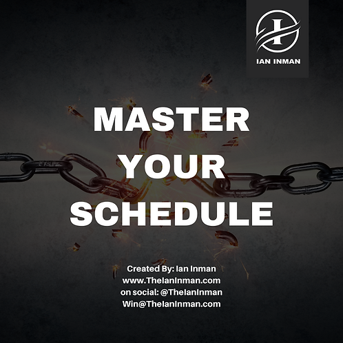 Master Your Schedule
