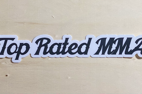 Top Rated MMA Long Sticker