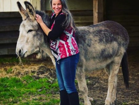 Q&A with Megan Hensley, the Donkey Farrier
