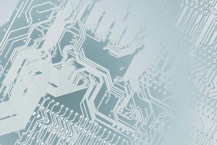 Circuit board. Electronic computer hardw