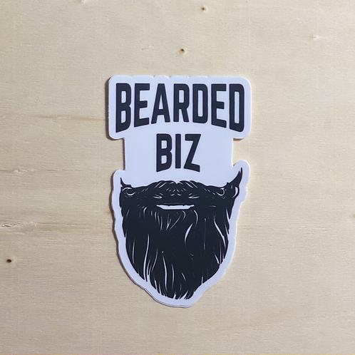 Bearded Biz Standard Sticker