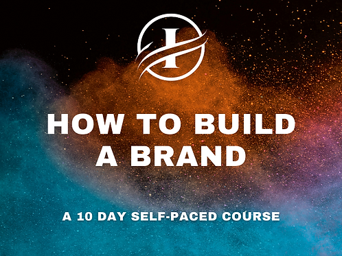 Build a Brand Workbook (2021 Edition)