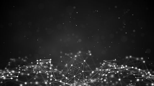 Futuristic network shape. Computer gener
