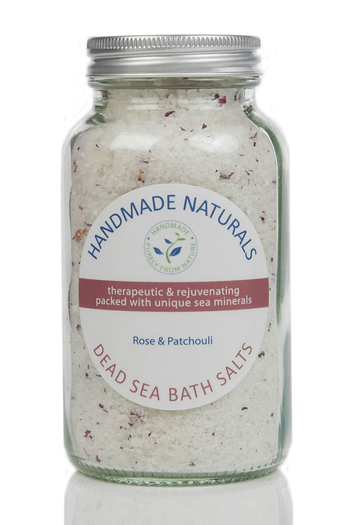 Rose and Patchouli Dead Sea Salts