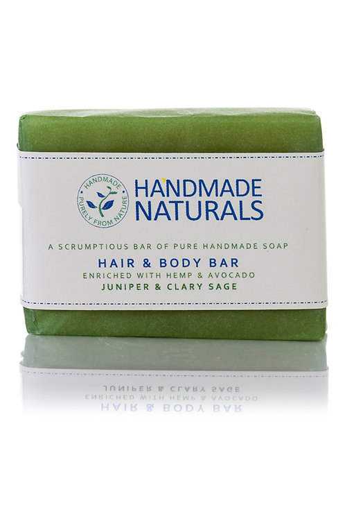 Juniper and Clary Sage Hair and Body Soap Bar