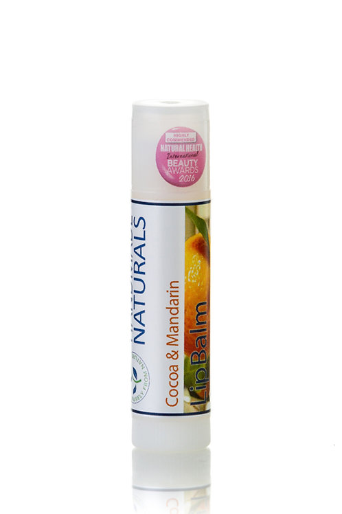 Cocoa and Mandarin Lip Balm Stick