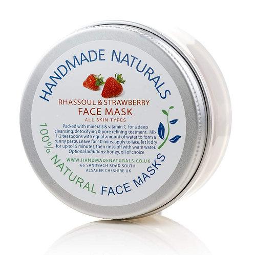 Rhassoul and Strawberry Mask