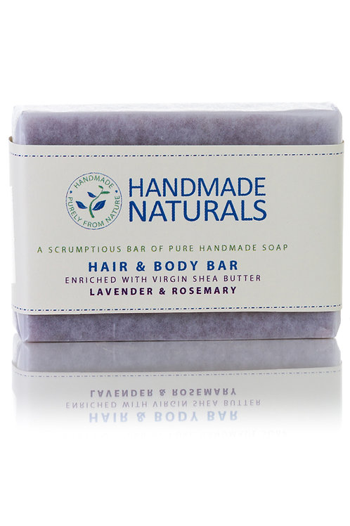 Lavender and Rosemary Hair and Body Soap Bar