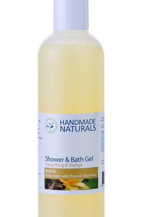 Ylang and Orange Shower Gel