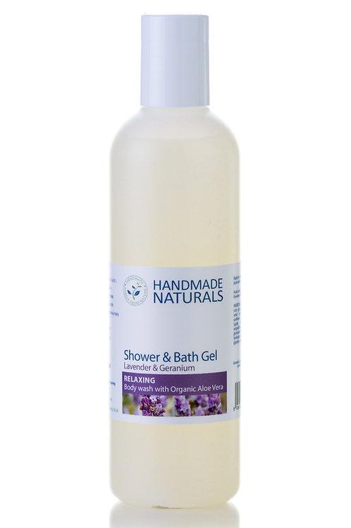 Lavender and Geranium Shower Gel