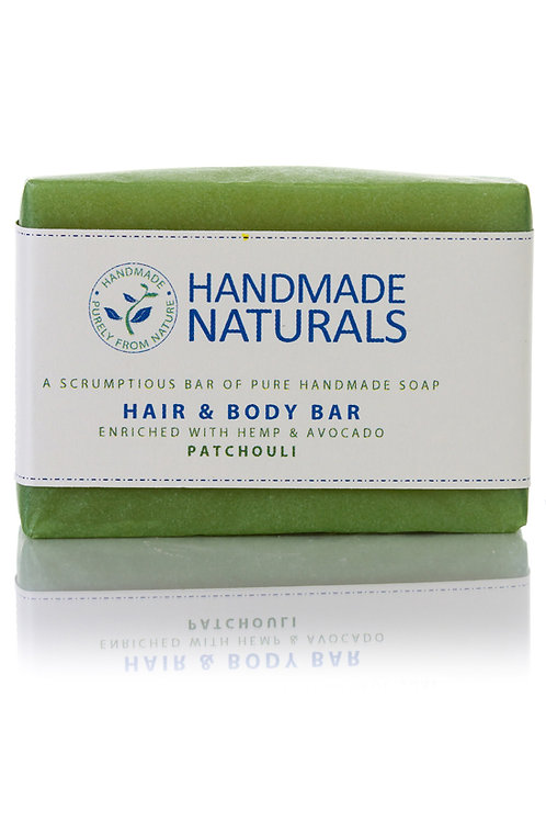 Patchouli Hair and Body Soap Bar