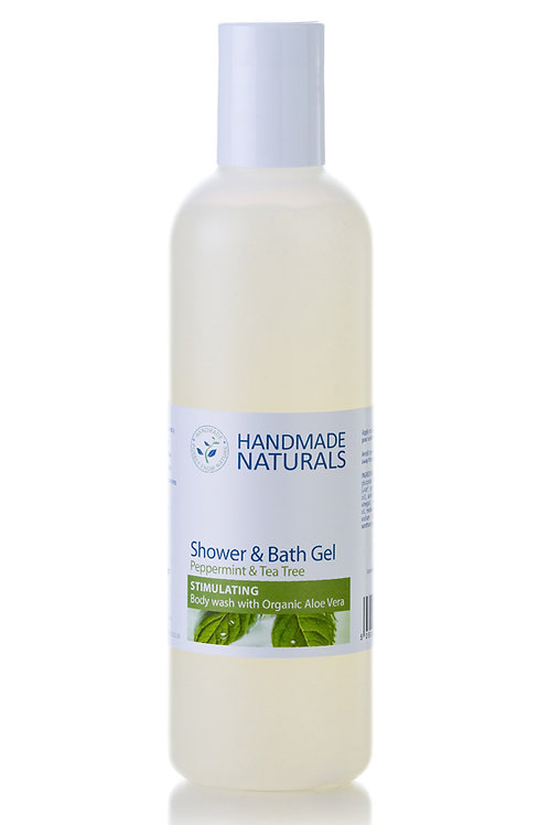 Peppermint and Tea Tree Shower Gel