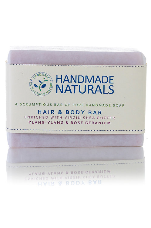 Ylang and Geranium Hair and Body Soap Bar