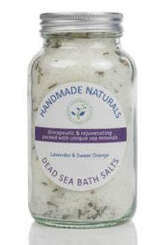 Lavender and Orange Dead Sea Salts