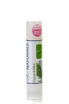 Cocoa and Mint Lip Balm Stick