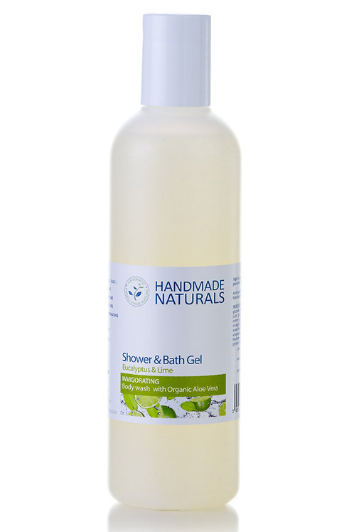 Eucalyptus and Lime Shower Gel
