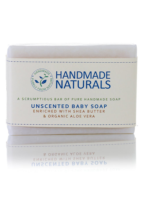 Unscented Baby Soap with Aloe Vera