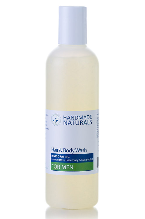 Invigorating Hair and Body Wash for Men